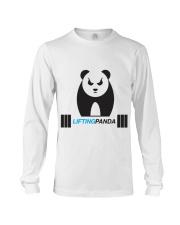 Lifting Panda Long Sleeve Tee thumbnail