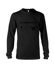 Chihuahua Simple Woman Long Sleeve Tee thumbnail