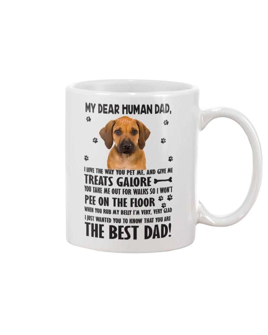 Human Dad Rhodesian Ridgeback Mug