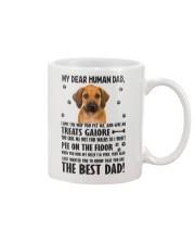 Human Dad Rhodesian Ridgeback Mug front