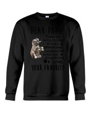 Dear Papa Elephant Crewneck Sweatshirt thumbnail