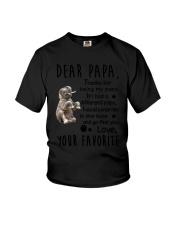 Dear Papa Elephant Youth T-Shirt thumbnail