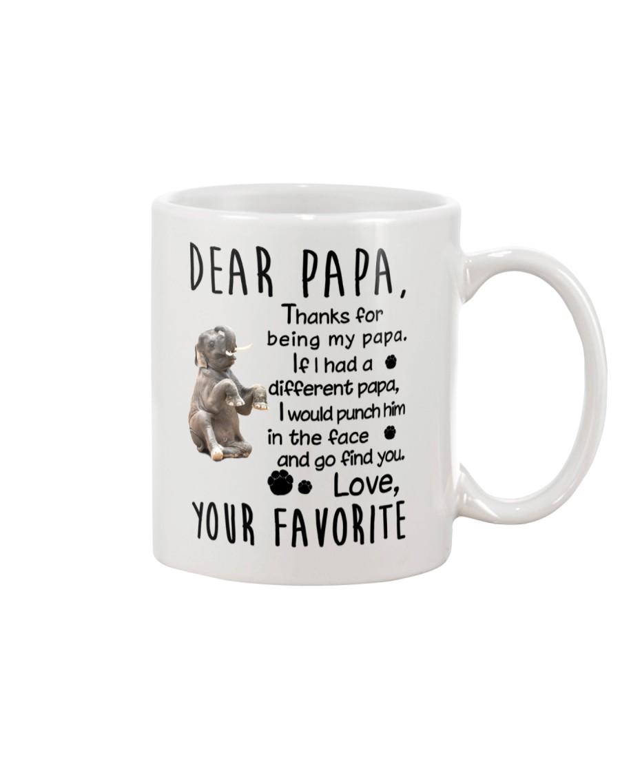Dear Papa Elephant Mug