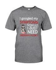 Siberian Husky Symptoms Classic T-Shirt front