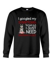 Siberian Husky Symptoms Crewneck Sweatshirt thumbnail