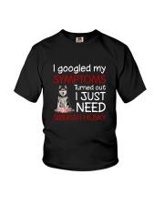 Siberian Husky Symptoms Youth T-Shirt thumbnail