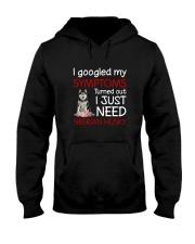 Siberian Husky Symptoms Hooded Sweatshirt thumbnail