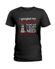 Siberian Husky Symptoms Ladies T-Shirt thumbnail