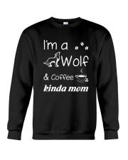 Wolf Kinda Mom Crewneck Sweatshirt thumbnail