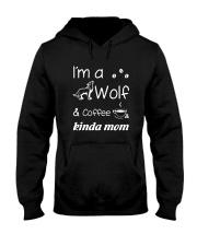 Wolf Kinda Mom Hooded Sweatshirt thumbnail
