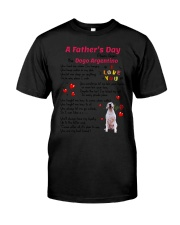 Poem From Dogo Argentino Classic T-Shirt thumbnail