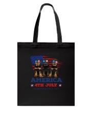 4th July Rottweiler Tote Bag thumbnail
