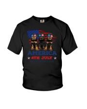 4th July Rottweiler Youth T-Shirt thumbnail