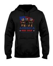 4th July Rottweiler Hooded Sweatshirt thumbnail
