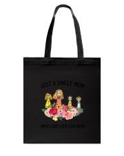 Just A Single Mom Tote Bag thumbnail