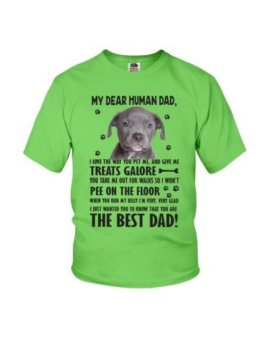 Human Dad American Pit Bull Terrier