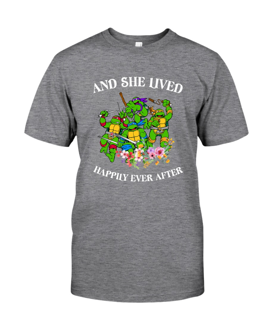 TMNT Happy Ever After Classic T-Shirt