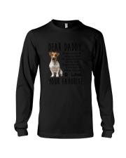 Daddy Jack Russell Terrier Long Sleeve Tee thumbnail