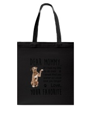 Dear Mommy American Pit Bull Terrier Tote Bag thumbnail