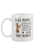 Dear Mommy American Pit Bull Terrier Mug back