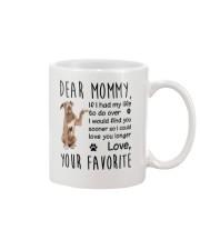 Dear Mommy American Pit Bull Terrier Mug front
