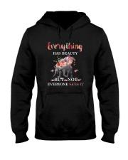 Everythings Beauty Elephant Hooded Sweatshirt thumbnail