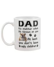 Dad Bulldog Mug back