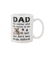 Dad Bulldog Mug front