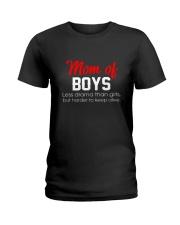Phoebe - Mom Of Boys 12418 - 03 Ladies T-Shirt thumbnail