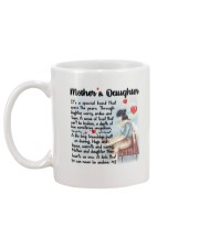 Mother And Daughter Mug back