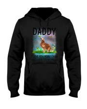 Daddy I Love You More Golden Retriever Hooded Sweatshirt thumbnail