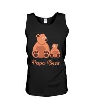 Papa Bear Unisex Tank thumbnail