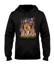 German Shepherd America  Hooded Sweatshirt thumbnail