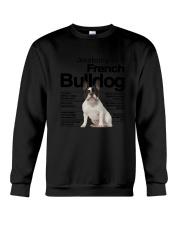 French Bulldog Anatomy Crewneck Sweatshirt thumbnail