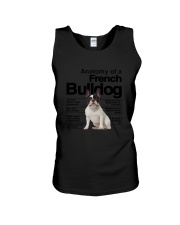 French Bulldog Anatomy Unisex Tank thumbnail