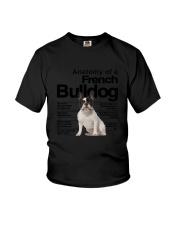 French Bulldog Anatomy Youth T-Shirt thumbnail