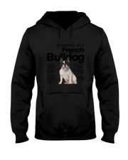 French Bulldog Anatomy Hooded Sweatshirt thumbnail
