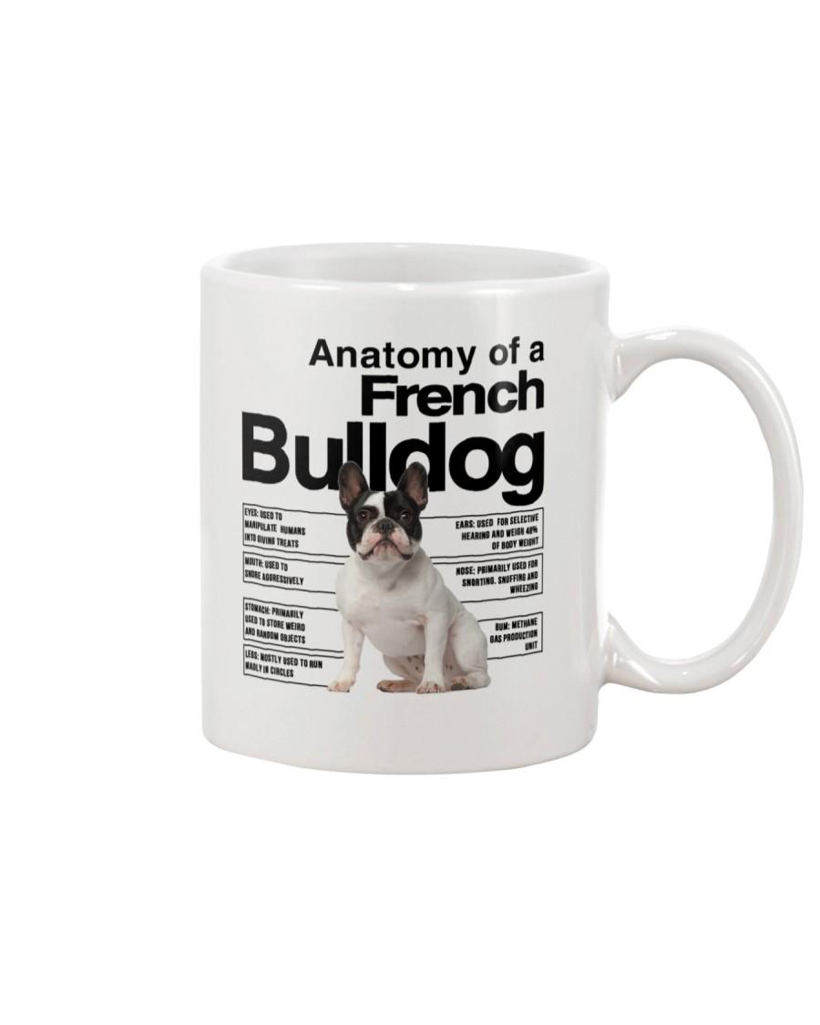 French Bulldog Anatomy Mug