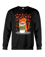 PHOEBE - Cat coffee - 2111 - A2 Crewneck Sweatshirt thumbnail