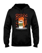 PHOEBE - Cat coffee - 2111 - A2 Hooded Sweatshirt thumbnail
