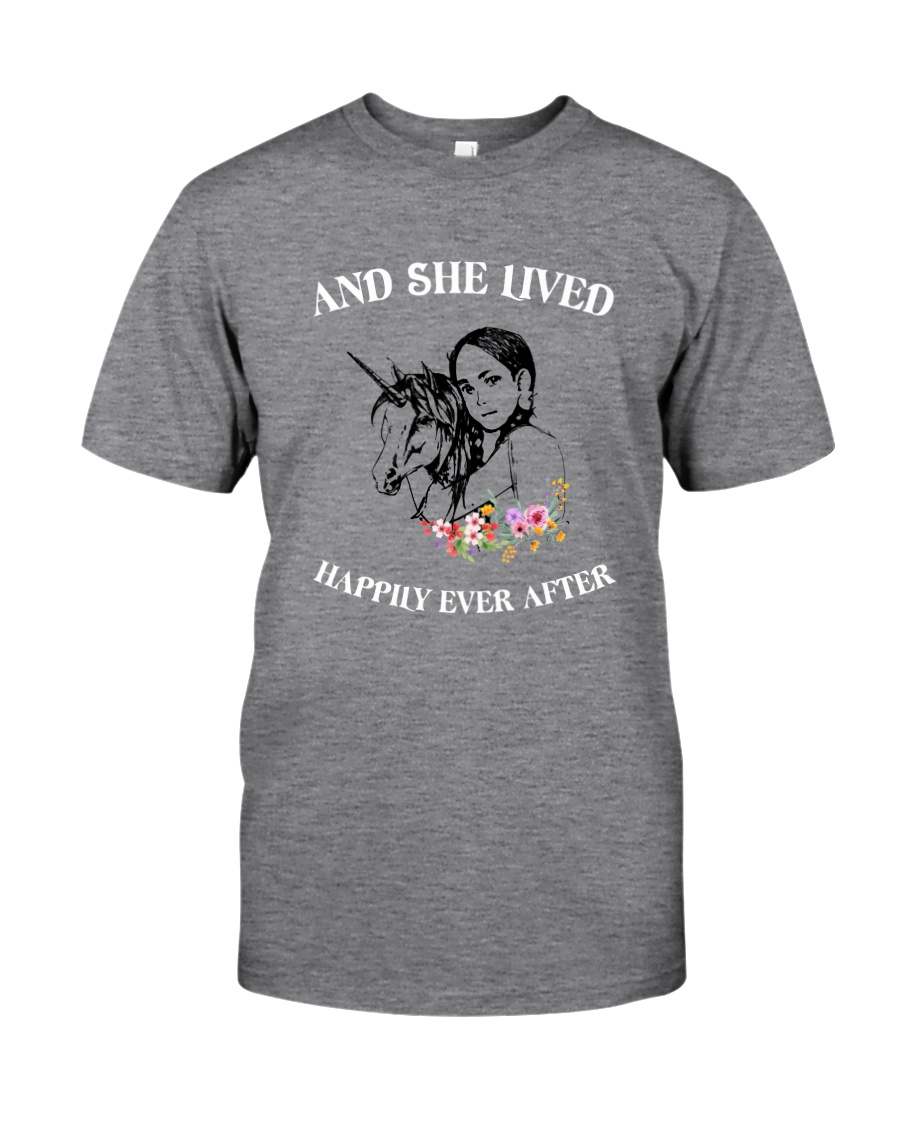 Unicorn Happily Ever After Classic T-Shirt