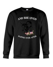 Unicorn Happily Ever After Crewneck Sweatshirt thumbnail