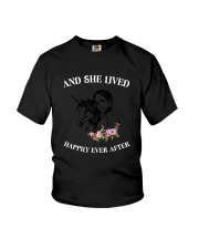 Unicorn Happily Ever After Youth T-Shirt thumbnail