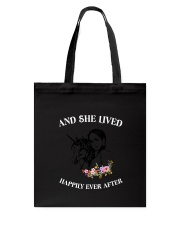Unicorn Happily Ever After Tote Bag thumbnail