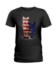 Cat America Ladies T-Shirt thumbnail