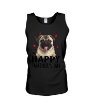 Pug Happy Pawther Day Unisex Tank thumbnail