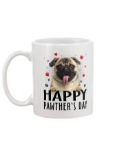 Pug Happy Pawther Day Mug back