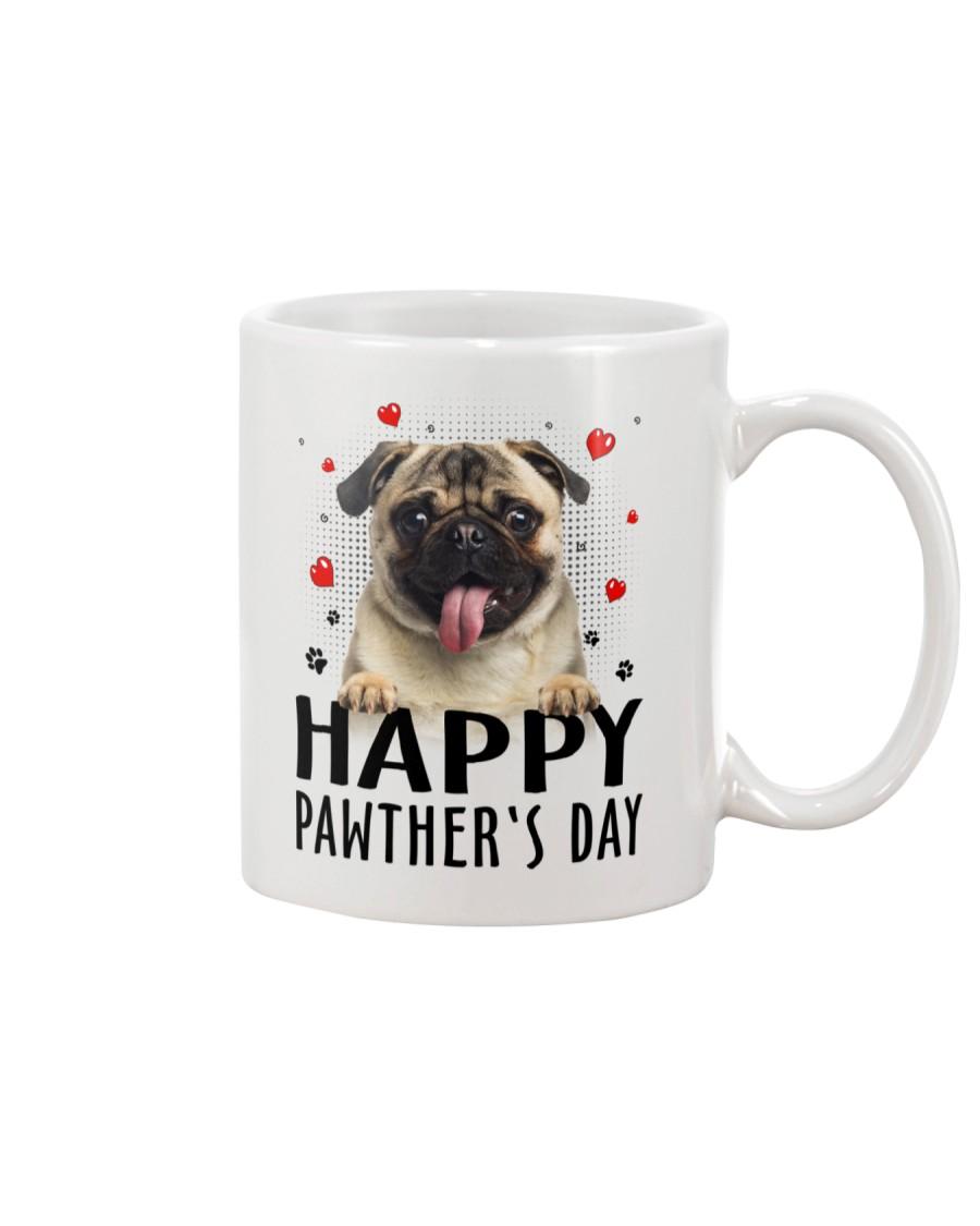 Pug Happy Pawther Day Mug