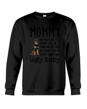 Rottweiler Ugly Baby Crewneck Sweatshirt thumbnail