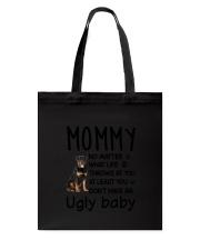 Rottweiler Ugly Baby Tote Bag thumbnail